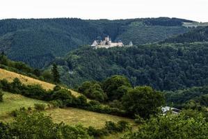 castelo bourscheid em luxemburgo foto