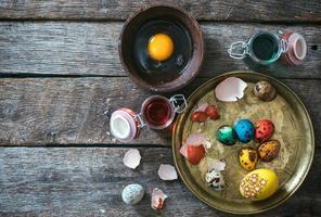 ovos decorativos de páscoa foto
