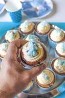 cupcake de coelho foto