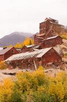 wrangell st elias kennecott minas concentração moinho Alasca selvagem foto