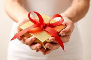 dando um presente