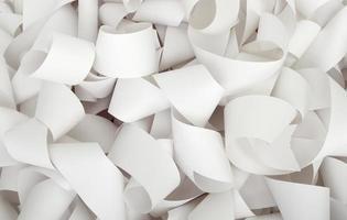 rolo de papel escritório de negócios contabilidade