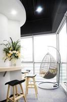 interior do escritório moderno foto