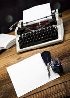 máquina de escrever foto