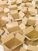 caixas de papelão foto
