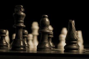 peças de xadrez foto