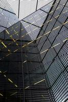 reflexões de construção abstrata foto