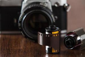 filme e câmera