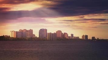 skyline de west palm beach foto
