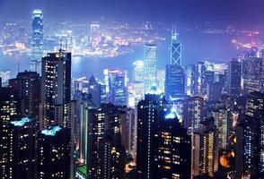 ilha de hong kong do pico de victoria