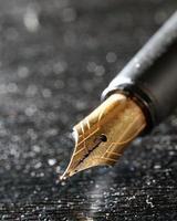 caneta tinteiro foto
