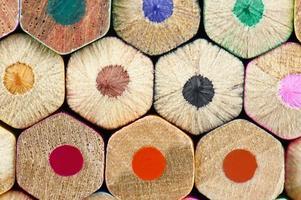 textura de lápis foto