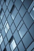 imagem abstrata de um edifício moderno foto