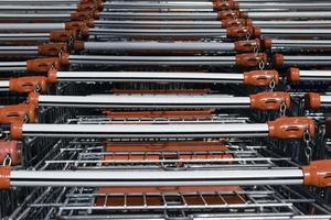 carrinhos de compras foto