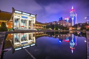 paisagem urbana de taipei foto