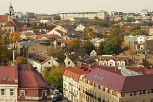 Vilnius no outono foto