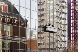limpadores de janelas foto