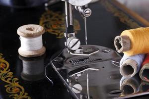 vintage a máquina de costura foto