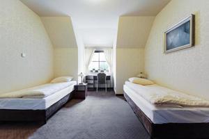 quarto de hotel de negócios foto