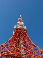 torre alta de tóquio foto