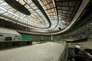 salão de distribuição de eletricidade na indústria metalúrgica foto