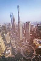 skyline de shanghai foto