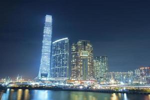 edifícios modernos em hong kong foto