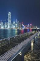 paisagem urbana de hong kong foto