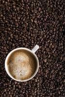 xícara de café expresso fresco foto