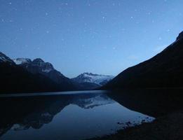 estrelas refletem