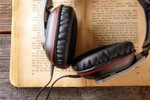 conceito de audiobook foto