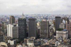 paisagem urbana de são paulo, brasil