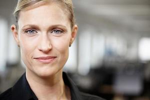 retrato de uma mulher de negócios