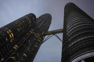 torre petronas kuala lumpur foto