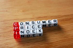 índice de preços ao consumidor cpi foto