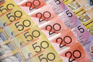 dólares da austrália foto