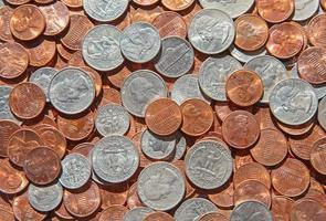 nós moedas foto