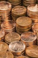 pilhas de um centavo