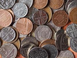 moedas de libra foto