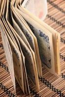 Yen japonês foto