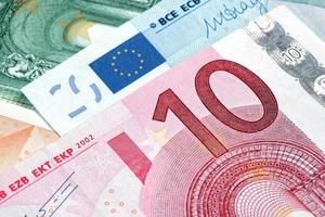 moeda do euro 10 foto