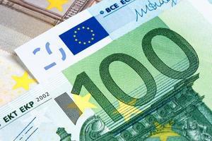 moeda do euro 100 foto