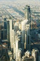centro da cidade de dubai (emirados árabes unidos) foto