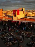 mercado marroquino foto