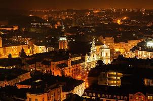 noite lviv foto