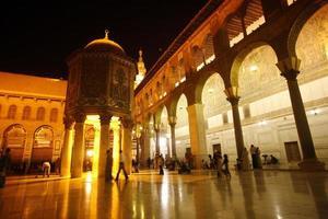 mesquita de syria damaskus foto
