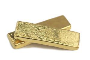 tamanho padrão de mini barra de ouro tailandês foto