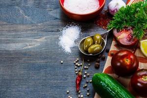 ingredientes foto
