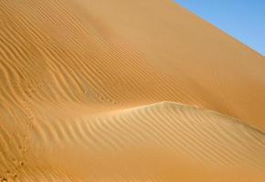 dunas do deserto de liwa foto