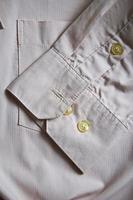 manga de uma camisa